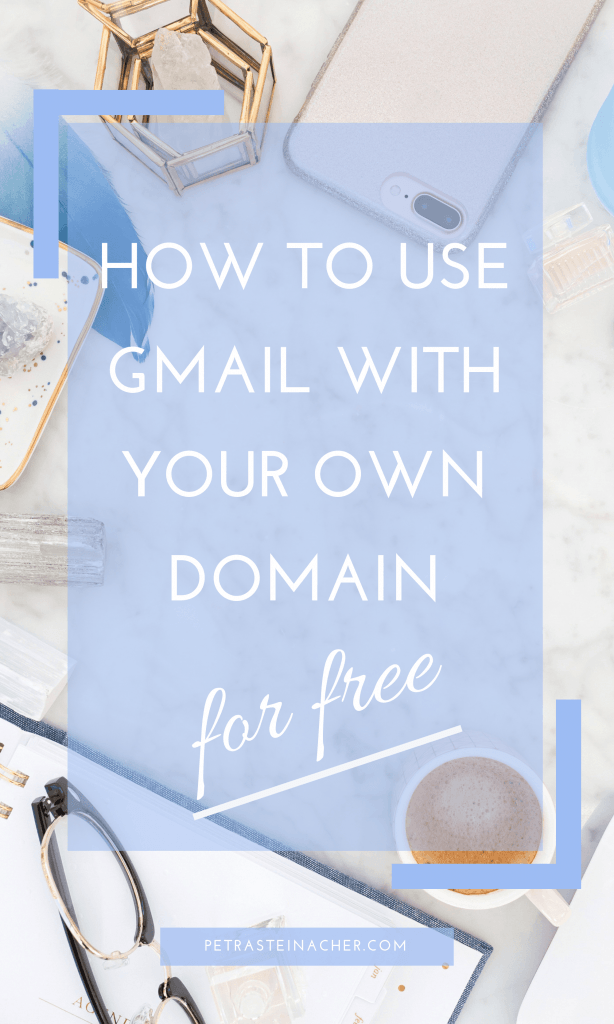 How to use Gmail with your own domain for free #blogging #pinterest #pinteresttips #bloggingtips #gmail