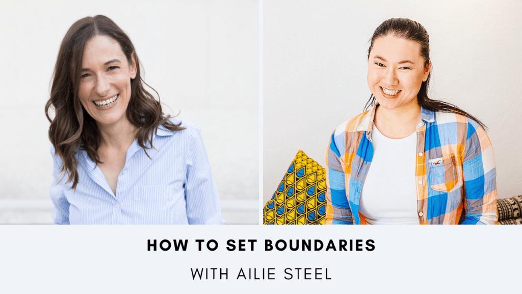 How to set boundaries Petra Steinacher