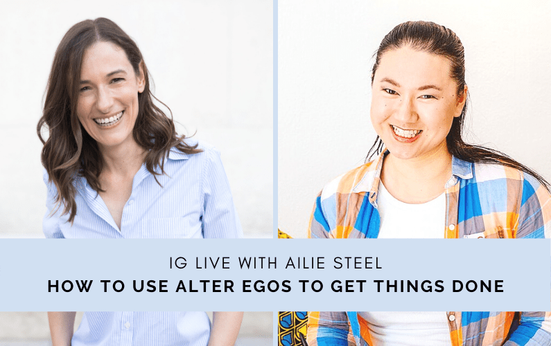 How To Use Alter Egos To Get Things Done